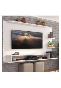 Painel Para Tv Até 65 Polegadas Madesa Alfa Branco Cor:Branco
