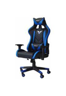 Cadeira Gamer Pro Eaglex Giratoria Reclinavel Ajuste De Altura - Azul