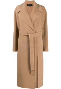 Rochas Belted Waist Coat - Neutro