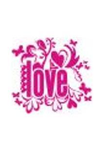 Adesivo De Parede - Love, Amor - 001Rm-P