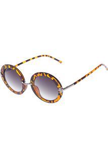 2829d7bee R$ 34,99. Dafiti Óculos De Sol Dafiti Accessories Estampado Caramelo