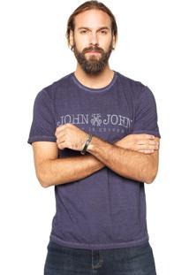 Camiseta John John Basic Roxo