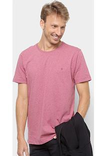 Camiseta Básica Manga Curta Forum Masculina - Masculino-Bordô