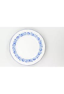 Conjunto De Pratos Para Sobremesa Porcelana Schmidt 06 Peças - Dec. Edite