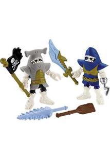 Imaginext Mattel Básico Pirata Tubarões