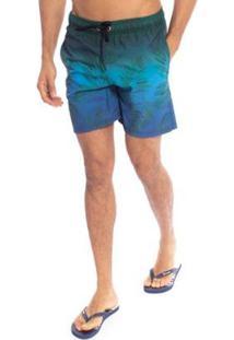 Shorts Aleatory Reef Masculino - Masculino-Verde