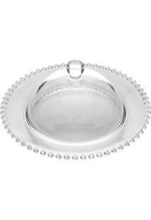 Queijeira Cristal Pearl 20X9Cm