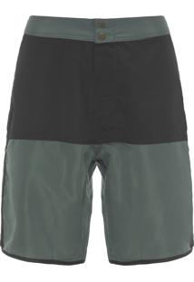 Short Masculino Bicolor Summer Pesto - Verde