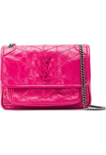 Saint Laurent Niki Baby Shoulder Bag - Rosa