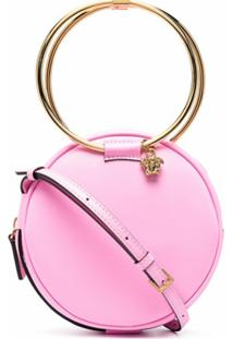 Versace Medusa-Head Charm Crossbody Bag - Rosa