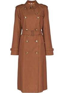 Burberry Waterloo Trench Coat - Marrom