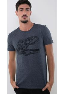 Camiseta Dinossauro Floral