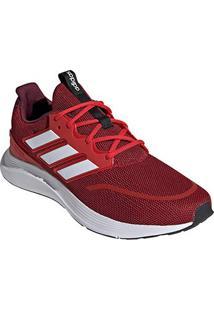 Tênis Adidas Energy Falcon Masculino - Masculino-Vermelho+Branco