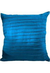 Capa Para Almofada Texturizada- Azul Escuro- 45X45Cmsanta Luzia