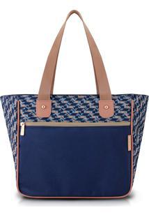 Bolsa Shopper Azul Jacki Design