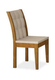 Cadeira Madonna Sala De Jantar , Padrao - Imbuia, Revestimento - Veludo Brilho