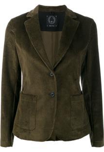 T Jacket Blazer Slim - Verde
