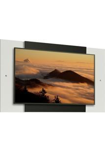 Painel Para Tv Até 58 Polegadas Madesa - Branco/Preto Branco