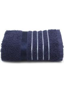 Toalha De Rosto Karsten Otto Azul Marinho
