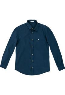 Camisa Slim Tricoline Malwee
