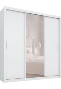 Guarda-Roupa Casal Com Espelho Residence Ii 3 Pt 2 Gv Branco
