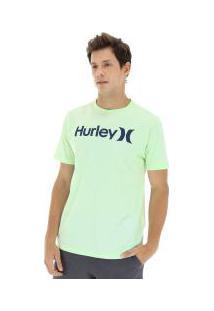 Camiseta Hurley Silk Solid - Masculina - Verde