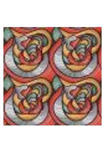 Papel De Parede Adesivo Abstrato Colorido 902 Rolo 0,58X3M