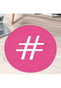 Tapete Dourados Enxovais Formato Hashtag Pink
