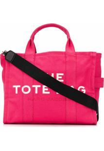 Marc Jacobs Bolsa Tote The Small Traveler - Rosa