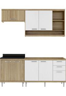 Cozinha Compacta Quilmes 7 Pt 3 Gv Argila E Branco