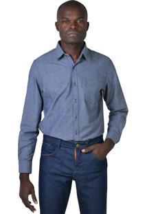 Camisa Yck'S Trocoline Azul