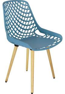 Cadeira De Cozinha Beau Design Azul