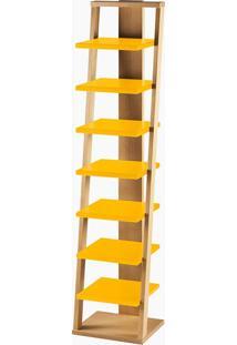 Prateleira Stairway Amarelo Laca M40