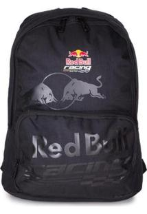 Mochila Red Bull Para Notebook Laps Racing - Unissex-Preto