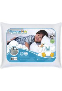 Travesseiro De Penas E Plumas Baby 30X40Cm 233 Fios Plumasul