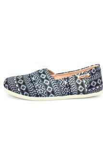Alpargata Quality Shoes 001 Azul Brilho