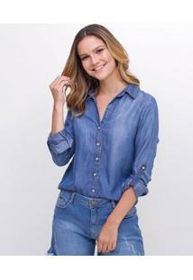 Camisa Em Jeans