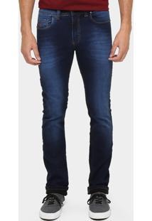 Calça Jeans Aleatory Tradicional Lavada - Masculino
