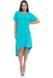 Vestido B'Bonnie Mullet Arya Verde Jade - Kanui