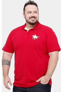 Camisa Polo Rg 518 Piquet Plus Size Masculina - Masculino