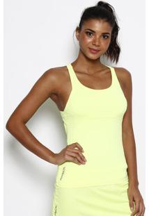 Regata Nadador Com True Life® Uv - Amarelo Neon - Phphysical Fitness