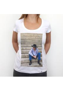 Escada - Camiseta Clássica Feminina