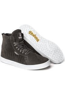 Tênis Embora Footwear Stalker Masculino - Masculino-Cinza+Chumbo