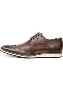 8389a7a02 Sapato Casual Marrom Nome Ravena masculino | Moda Sem Censura