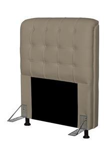 Cabeceira Para Cama Box Solteiro 90 Cm Califórnia Corano Areia - Js Mó