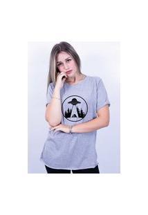 Camiseta Bilhan Corte A Fio Nave Cinza