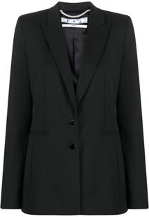 Off-White Tailored Graphic Jacket - Preto