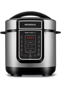 Panela De Pressão Elétrica Mondial Digital Master Cooker Pe-40 Inox 3L - 220V