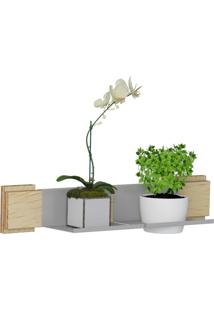 Kit Jardim Vertical 1001 Lyam Decor Green Com 01 Cachepot Bege