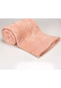 Cobertor Queen 2,20M X 2,40M Dobby Rose